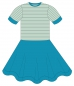 "Preview: Kinder Kleid ""Stella"" - Kurzarm"
